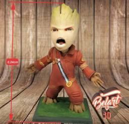Action Figure Baby Groot Guardiões da Galáxia