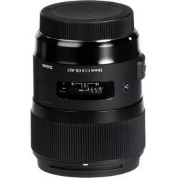 Lente Sigma 35mm f/1.4 DG Art Sony / Nikon / Canon comprar usado  Rio de Janeiro