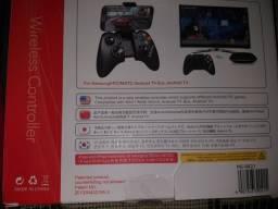 Controle wireless Ipega novo na caixa nunca usado watts 994341504
