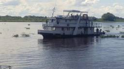 Pescaria no Pantanal/MS Barco Hotel Genova