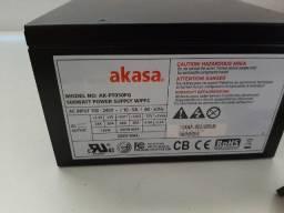 Fonte para PC Gammer Akasa 500 W Real
