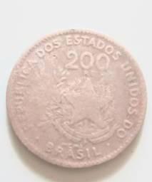 Moeda antiga de 1901
