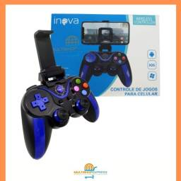 Controle Joystick Gamepad Bluetooth Inova para Celular