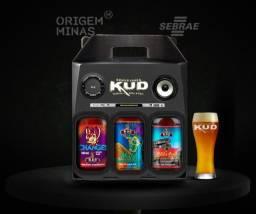 Kit 2 Garrafas Küd + 1 Caneca - Caixa Amplificador | Cervejaria Küd