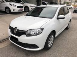 Renault Logan 1.0 2018 completo (Transferência de dívida) - 2018