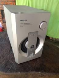 Caixa Subwoofer Philips amplificada.