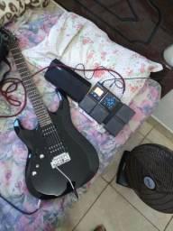 Guitarra canhota Cort x2