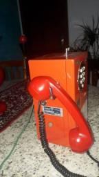 Telefone orelhão de ficha
