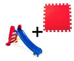 Brinquedo educativo - Escorregador e Tatame em EVA