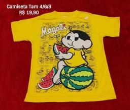 Camisetas Personagem Infantil