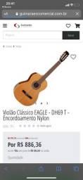 Violão clássico Eagle DH 69 naylon