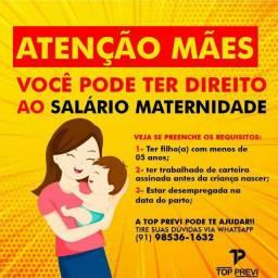 Garanta o seu salário maternidade PE