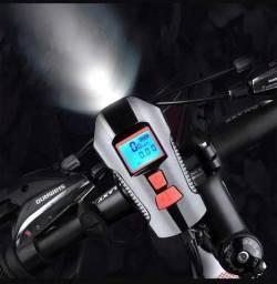 Lanterna 3x1 para bicicleta