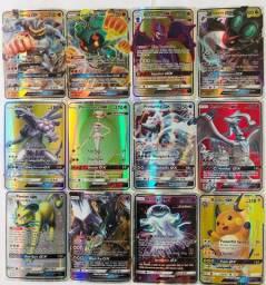 Kit 25 Cartas Pokemon Gx A Escolher Sem Repetidas Promoção