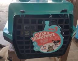 Caixa transportadora número 3 (grande )nova zerada Leia a descrição