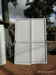 Porta balcão em alumínio 1,85x2,30m