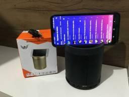 Caixa de Som Bluetooth com SUPORTE