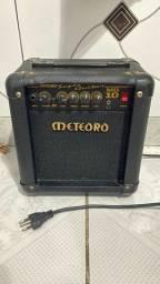 Amplificador guitarra meteoro c/ DRIVE 10W 1 mes de uso