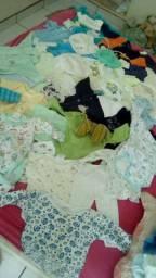 Vendo lote de bebe menino 66 peças