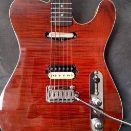 Guitarra Telecaster luthier maholiver