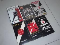Fitas VHS e DVD comemorativos vasco da gama