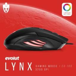 Mouse Gamer Evolut Lynx EG-105 3200dpi RGB