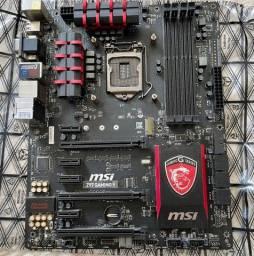 Kit placa mãe lga 1150 com Core i7 4790k com 16gb de memória