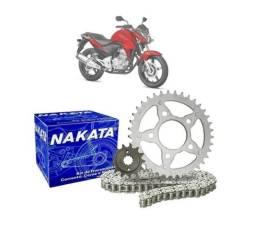 Kit Relação Transmissão Nakata para a Honda Cb 300