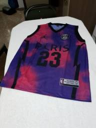 Camisa de basquete do PSG M, G e GG