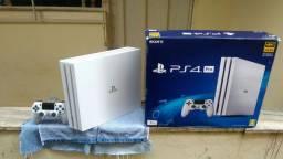 *PlayStation 4 Pro *Ps4 Pro Branco Edição Limitada