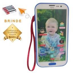 Telefone Celular Smartphone Musical Para Criança e Bebê Interativo Baby Phone