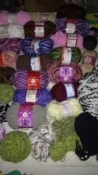 Linhas para tricô e crochê