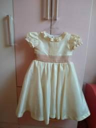 Vestido Infantil - Tafetá Italiano