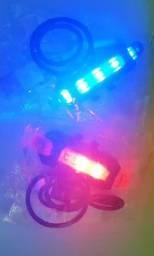 Lanterna sinalizador, recarregável USB