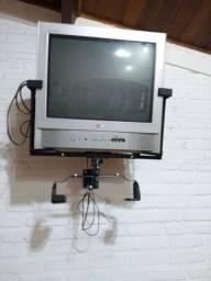 Tv de 21 polegadas televisão
