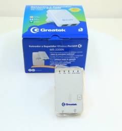 Roteador e repetidor wireless Greatek