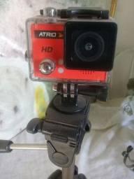 Câmera  gopro  com tripé