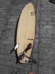 Prancha cabianca Medina 5, 10 2015+ capa refletiva + quilhas +leasch+ deck
