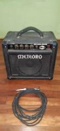 Amplificador Meteoro FWB-20 + cabo