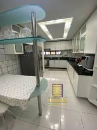 Apartamento No calhau , 197m² , 4 Suítes ,Moveis projetado ,Vista Mar