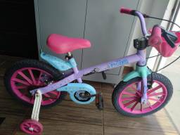 Bicicleta infantil aro 16 da Frozen Disney