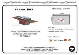 Prensa Termica pneumática tucano