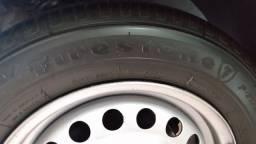4 rodas com os pneu. 1.350