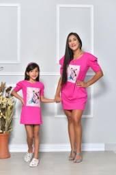 VESTIDOS mãe e filha Realeza