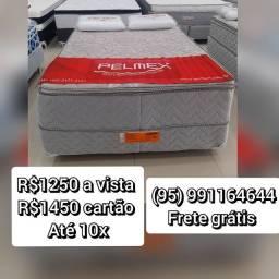 CAMA DE MOLAS ENSACADAS