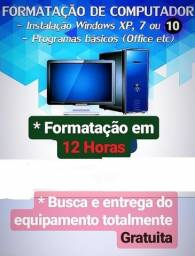 Formatação desktop e notebook