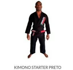 Kimono preto jiu jitsu A3 Novo