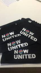 Camiseta feminina Now United
