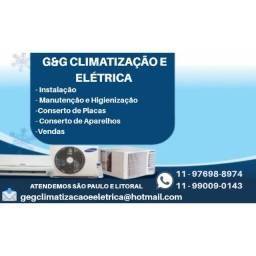 Carga de Gás em Ar condicionado