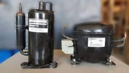 2 Compressores Embraco 220v 60hz